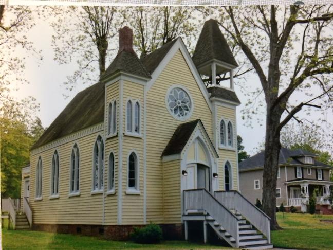 Immaculate Conception Church In Halifax North Carolina Saint John